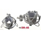 Recording Microphone Shock Mount Silver