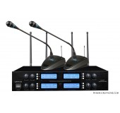 UHF Eight channel microphone system
