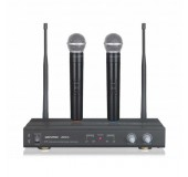 Dual Handheld Wireless Microphone System